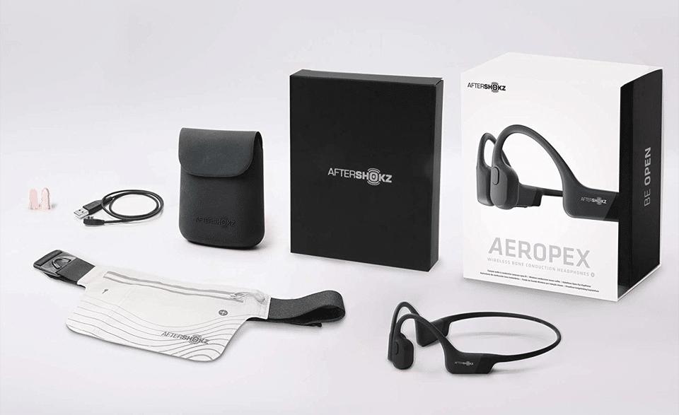 Accesorii și căști AfterShokz Aeropex.